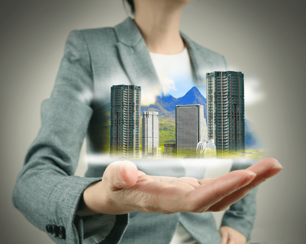 l'immobilier permet de vous constituer un patrimoine et aussi de devenir rentier immobilier
